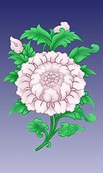 Lotus - eins der 8 tibetischen Glücks-Symbole von http://www.fpmt-osel.org/fpmt/index.htm
